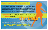ChickStyle postcard for Diversion Media (back)