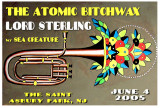 Atomic Bitchwax/Lord Sterling Poster 2005