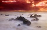 Above the clouds - Alvorada na praia do Barro Preto