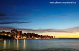 Orla Beira Mar vista das pedras do granvile, Fortaleza, CE