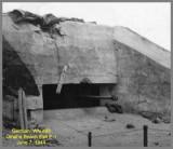 German Gun Emplacement WN #65 -June 1944