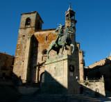 The Statue of Francisco Pizarro