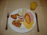 moscow hotel ukraine buffet breakfast
