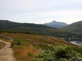 Ben Lomond from the path to the Cobbler, Arrochar, Argyll