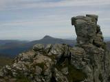 Summit of the Cobbler, Ben Lomond behind