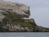 The lighthouse on the Bass Rock