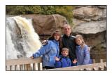 At the Blackwater Falls