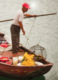 crab fisherman in the Typhoon Shelter