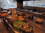 Hotel kitchen, Derge