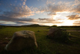 Penhill just missed sunset.