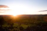 Sunset, Wensley