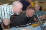 Mark Ala & Tim Fedrickson check out the Tangent Hopper