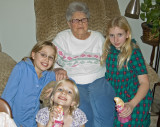 Grandmother and the Girls