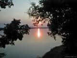 Sunset at Rifa Education Camp on the Zambezi