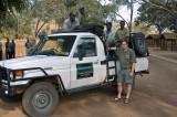 Ready to Head Back to Harare, Looking Like A Major Dork