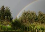 Regnbue over Kvernaland 3