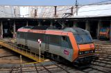 The BB26173 at Avignon depot.