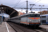 The BB9330 at Avignon station.