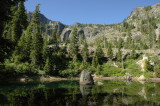 CALIFORNIA - SISKIYOU WILDERNESS - BEAR MOUNTAIN