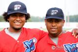 Carlos Arroyo and Ismael Castro