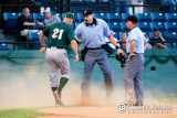 First Inning Dust-up