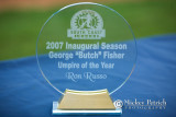George Butch Fisher - Umpire of the Year Award