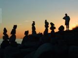 Rock Balancing Art