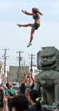 2007_07_18 Capital Ex Parade: Edmonton Eskimo Cheerleaders