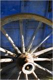 Old Blue Cart