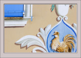 Cockerel Wall Painting
