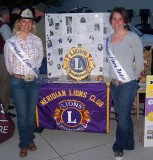 Lions Club Rodeo Queens