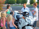 Officer Stoy Wows the Kids