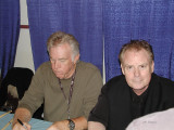Denny Seiwell  and  Michael Shrieve