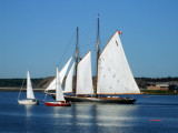 The Bluenose ll and Friends