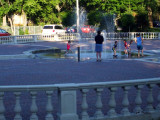 Evening Fun At The Fountain