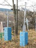 Nagrobki w Husnem z dawnych polsko-czeskich słupków granicznych(IMG_4162.jpg)