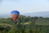 Balloon over Toscany