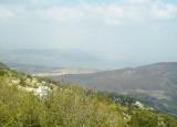 View on the sea of Galilee(lake Tiberias)