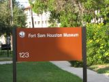Friday visit to Ft. Sam Houston