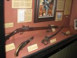 Guns at historic Ft. Sam Houston.