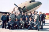 RHAF Flight 13 members with M/Sgt Joe Smith