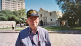Herb Wolfson at the Alamo