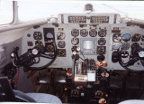 Piedmont Airlines C-47 inst. panel