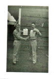 Ralph Cinkus and Bill Chilcoat September 1955