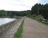 Jacinto walking in La Grajera on the way to Navarrete