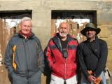 Gerhard, Jacinto and Jose Luis in Najera