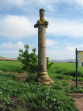 Mid 16th C Picota, a pillar serving as signpost in Azofra