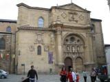 Renaissance facade of the Cathedral at Santo Domingo de la Calzada