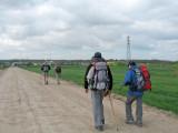 Getting to Burgos through the Castañares option