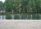 Walking alongside the Arlanzon River in Burgos